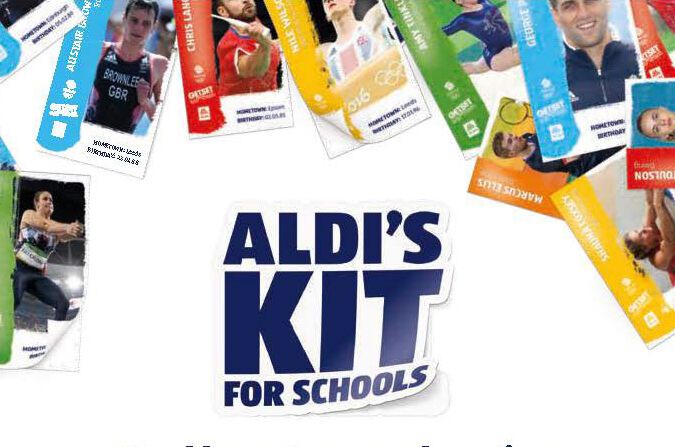Aldi Kit for Schools Promotion